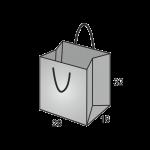 Papiertaschen Boden XL