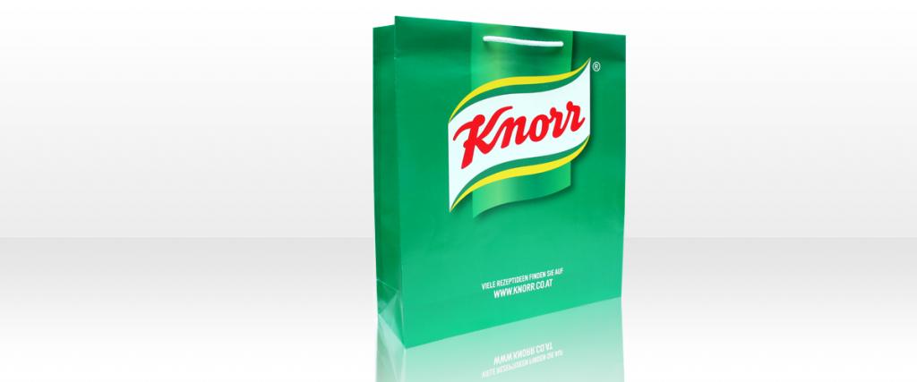 Papiertaschen Knorr