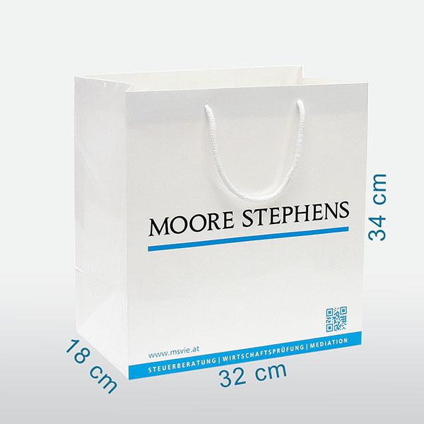 papiertragetachen österreich, papiertaschen bedrucken, werbetaschen mit firmenlogo