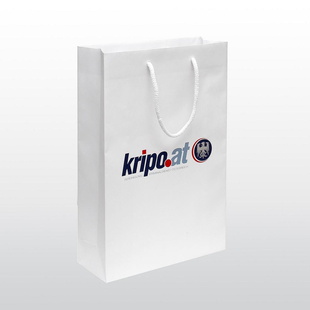 Papiertaschen KRIPO