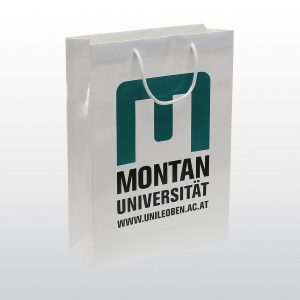 Papiertaschen Montan Universität