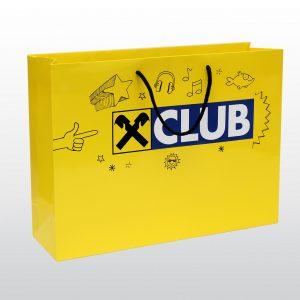 Papiertaschen Raiffeisen Club