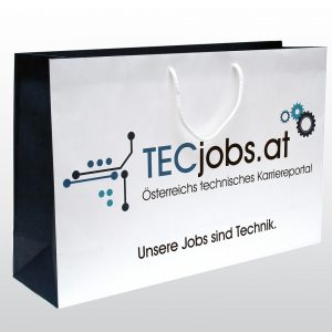 Papiertaschen TecJobs