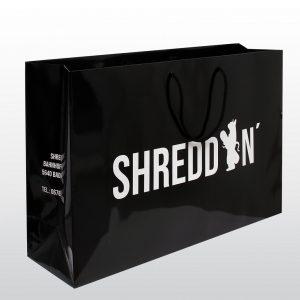 Papiertragetaschen SHREDDIN