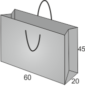 Papiertaschen, Messetaschen